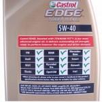 specyfikacja Castrol Edge 5W40 turbodiesel