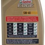 specyfikacja Castrol Edge 5W40