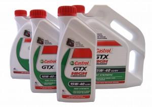 seria olejów castrol gtx
