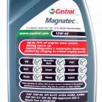 specyfikacja Castrol Magnatec 10W40 Benzyna